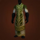 Gladiator's Satin Robe, Gladiator's Mooncloth Robe Model