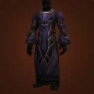 Mendicant's Robe of Mendacity, Robe of the Conquered Prophet, Hyldnir Runeweaver's Garb, Drakewing Raiments, Arcane Flame Altar-Garb, Water-Drenched Robe, Arcane Flame Altar-Garb Model