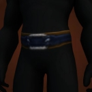Mistscape Sash, Frostwolf Cloth Belt Model