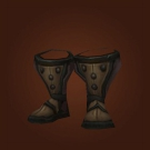 Wasteland Hide Footguards, Wasteland Leather Boots Model