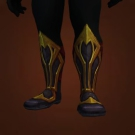 Grove Darkener's Treads, Shellshock Footguards, Tooled Rivermoor Boots, Bleak Underworld Treads, Tunnel Trudger Footguards, Toxin-Stitched Footwraps, Footpads of the Swift Balestra Model