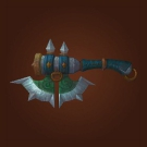 Bronzed Axe, Axe of the Lone Champion, Jinyu Battleaxe Model