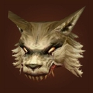 Helm of Lupine Ferocity Model