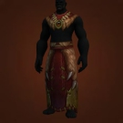 Wild Gladiator's Dragonhide Tunic, Warmongering Gladiator's Dragonhide Robes Model
