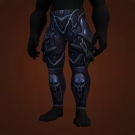 Conqueror's Darkruned Legplates, Conqueror's Darkruned Legguards Model