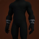 Master's Bracers, Netherweave Bracers, Manacles of Remembrance, Shadow Council Bracer, Gold-Trimmed Cuffs Model