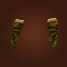 Ahn'kahar Handwraps, Overcast Handwraps, Bile-Cured Gloves Model