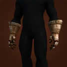 Barbaric Iron Gloves Model