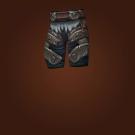 Grievous Gladiator's Leather Legguards, Prideful Gladiator's Leather Legguards Model