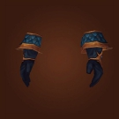 Lightningweaver Gauntlets, Crystal-Claw Gloves Model