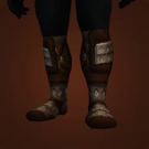 Treads of Aspiring Heights, Scytheclaw Boots, Cavern Leather Treads Model