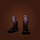 Abyss Walker's Boots, Abyssal Cloth Footwraps Model