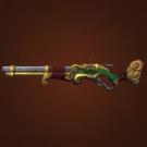 Polished Gun, Bronzed Gun, Jade Rifle Model