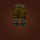 Spiritwalker's Legwraps, Spiritwalker's Legguards, Spiritwalker's Kilt Model