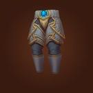 Vicious Gladiator's Scaled Legguards, Vicious Gladiator's Ornamented Legplates Model