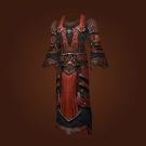 Deadly Gladiator's Mooncloth Robe, Deadly Gladiator's Satin Robe Model