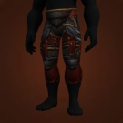 Wrathful Gladiator's Leather Legguards Model