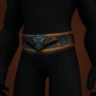 Nerub'ar Stalker's Cord, Band of the Night Raven, Blood-Drinker's Girdle, Linked Scourge Vertebrae Model