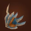Replica Warlord's Dragonhide Epaulets Model