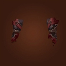Deadly Gladiator's Silk Handguards Model