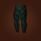 Legguards of the Haunted Forest, Legwraps of the Haunted Forest, Leggings of the Haunted Forest, Breeches of the Haunted Forest Model