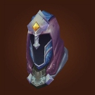 Hood of Fiery Aftermath, Peacebreaker's Silk Cowl Model