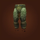 Green Dragonscale Leggings Model