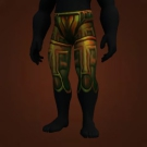Runed Copper Pants Model
