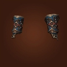 Crafted Malevolent Gladiator's Ringmail Gauntlets, Crafted Malevolent Gladiator's Linked Gauntlets, Crafted Malevolent Gladiator's Mail Gauntlets Model