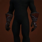 Deadly Gladiator's Chain Gauntlets Model