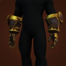 Primal Gauntlets of Rage, Fitted Ironbark Gauntlets, Kezan Pirate's Mitts, Gauntlets of the Obsidian Aspect Model