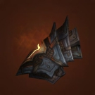 Bloodthirsty Gladiator's Leather Spaulders Model