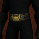 Vindicator's Plate Belt Model