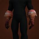Replica Knight-Lieutenant's Dragonhide Gloves, Replica Knight-Lieutenant's Dragonhide Grips Model