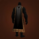 Warmonger's Cloak, Obsidian-Flecked Cape, Obsidian-Flecked Cape, Dar'toon's Cloak, Netherwane Cloak, Shroud of Unspoken Names, Cloak of the Craft, Cloak of the Black Void, Cloak of Darkness Model