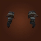Gilt-Edged Leather Gauntlets Model