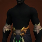Illidari Robe Model