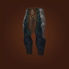 Legwraps of the Exorcist, Leggings of Ebon Veins, Saddle-Scarred Leggings, Leggings of the Exorcist, Legguards of Surreal Visions, Leggings of Ebon Veins, Saddle-Scarred Leggings Model