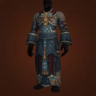 Tyrannical Gladiator's Silk Robe Model
