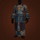 Tyrannical Gladiator's Silk Robe Model