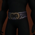 Sash of Musing, Quicksand Belt, Vicious Leather Belt Model