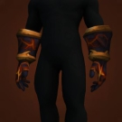Merciless Gladiator's Linked Gauntlets, Merciless Gladiator's Mail Gauntlets, Merciless Gladiator's Ringmail Gauntlets Model