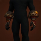 Wrathful Gladiator's Leather Gloves Model