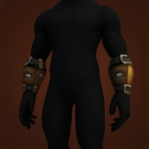 Guardian Leather Bracers Model
