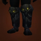 Boots of Unsettled Prey, Tempered Mercury Greaves Model
