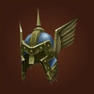 Brilliant Titansteel Helm, Fang-Deflecting Faceguard, Helm of the Bested Gallant Model