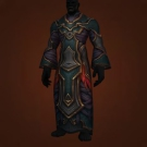 Robes of the Quiet Isle, Empowered Necropile Robe, Amber-Starched Robes, Robes of Fevered Dreams Model
