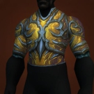 Ionized Yojamban Carapace, Lei Shen's Grounded Carapace, Hauberk of Gleaming Fire, Scorched Spiritfire Drape, Ionized Yojamban Carapace, Lei Shen's Grounded Carapace Model