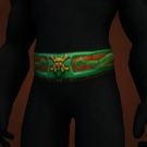 Eldr'naan Belt, Dragonmaw Augur's Cinch Model