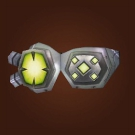 Gnomish Battle Goggles, Magnified Moon Specs, Hyper-Magnified Moon Specs Model